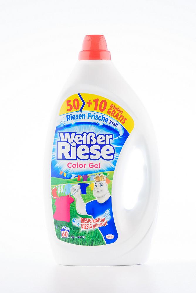 - Weisser Riese гелевий засіб для прання (4*3000 мл) COLOR GEL (983)