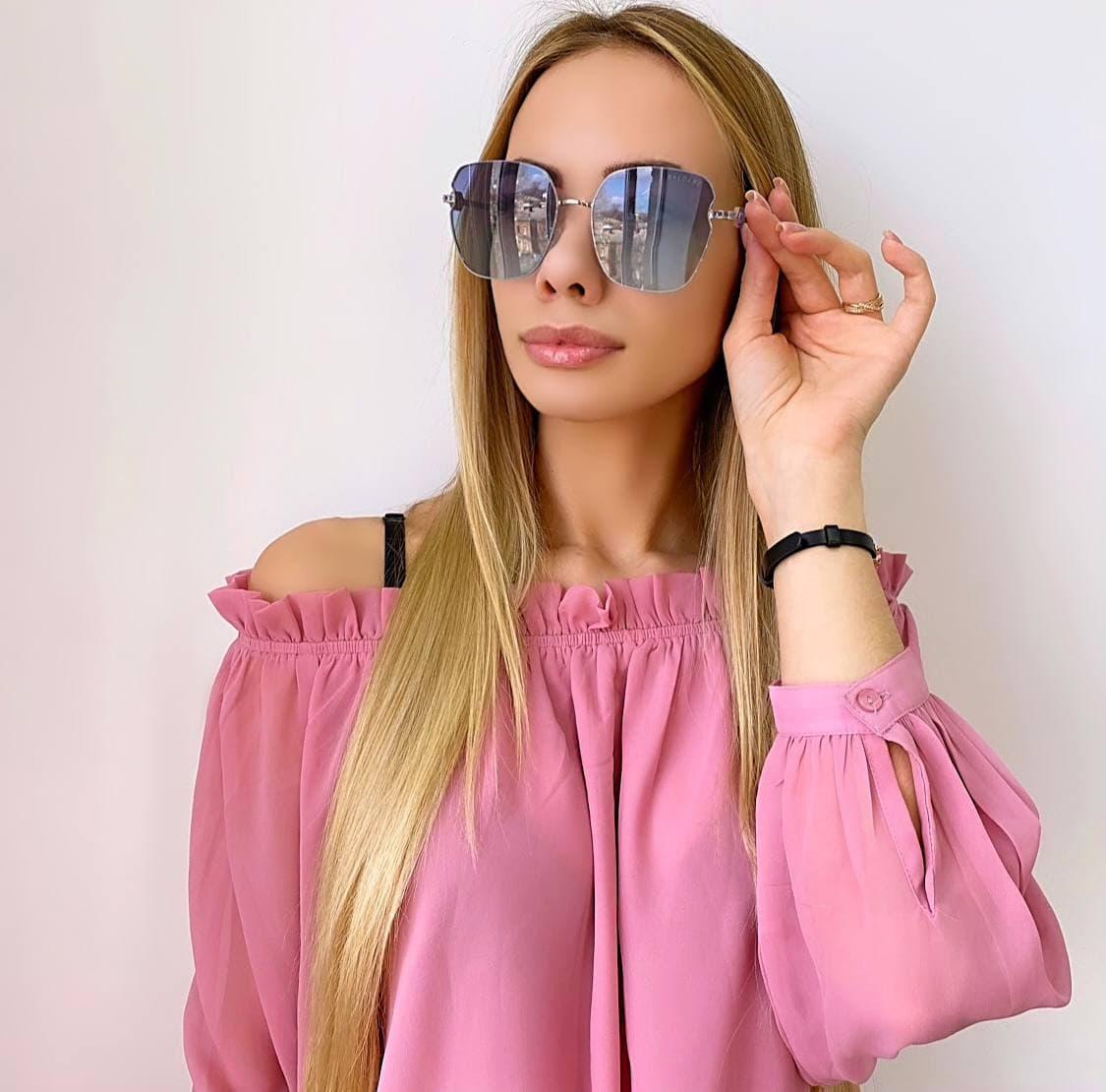 Женские радужные солнцезащитные очки