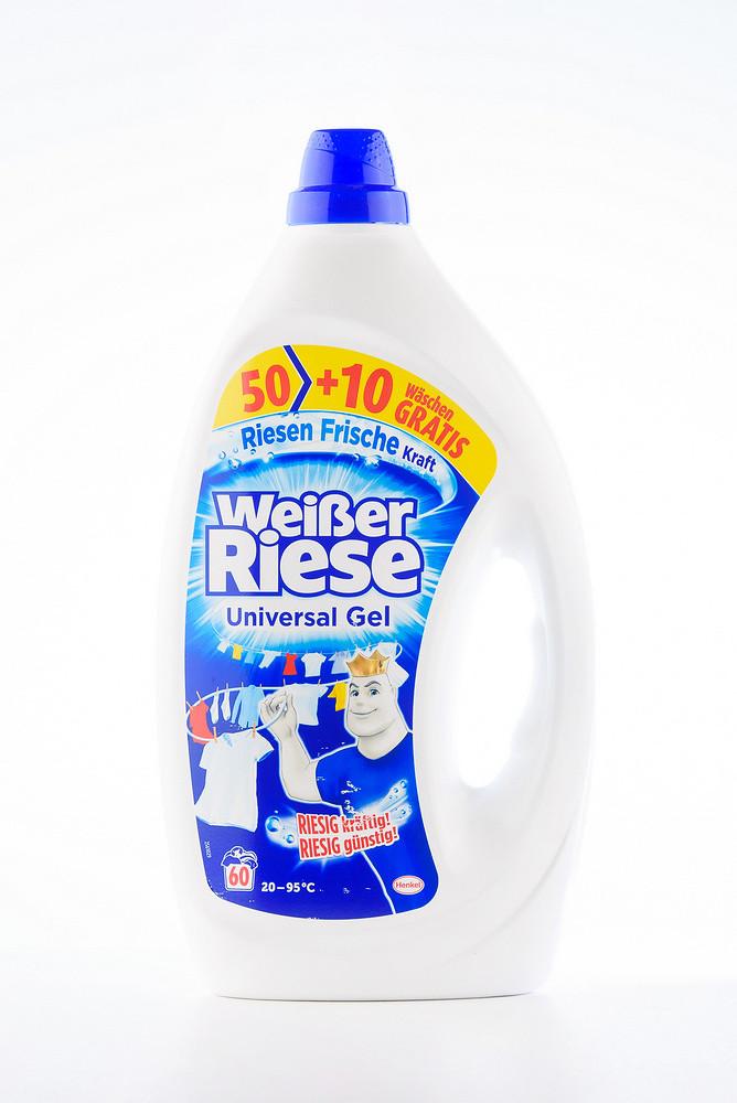 - Weisser Riese гелевий засіб для прання (4*3000 мл.) UNIVERSAL GEL (003)