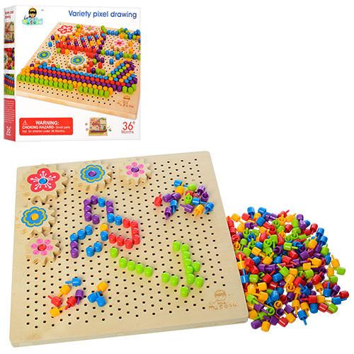 Дерев'яна іграшка Мозаїка MD 1185