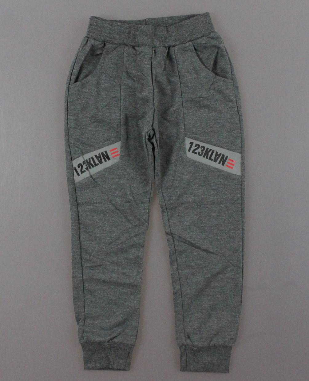 {есть:134,140} Спортивные брюки для мальчиков Active Sports,  Артикул: HZ7057-серый [140]