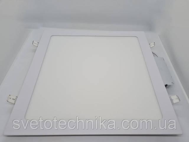 Feron AL511 24W OL (LED панель) квадрат вбудований світильник світлодіодний білий