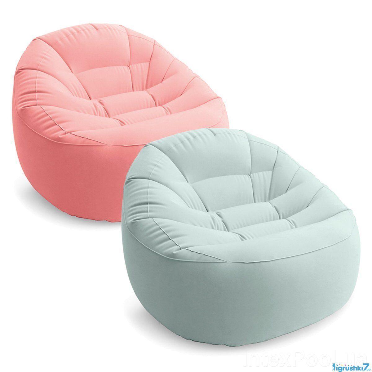 Intex Надувное кресло 68590 NP  2 цвета