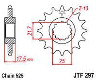 Звезда передняяJT Sprockets JTF297.15RB
