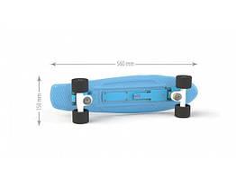 Іграшка дитяча «Скейт» артикул 0151/1 блакитний