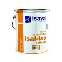 Полиуретановая полуматовая эмаль для большинства видов поверхностей Изаллак 4л - до 60м2