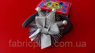 Резинка для волос Корона 3,5 см цвет в ассортименте