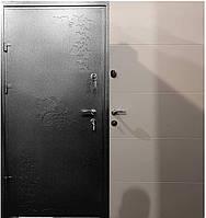 Входная дверь метал мдф  декор плазма 16