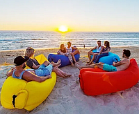 Ламзак надувной матрас мешок Матрас для пляжа, фото 1