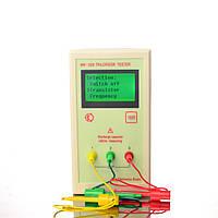 Транзистор тестер универсальный для проверки транзисторов, конденсаторов, радиодеталей ESR, LCR тестер MK-328