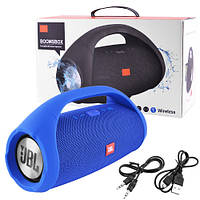 Bluetooth-колонка JBL BOOMSBOX BIG, speakerphone, радио, blue, фото 1