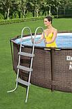 Каркасный бассейн Bestway 56709 (366 x 100 cм) (2006 л/ч, лестница), фото 4
