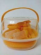 Набор посуды для пикника на 6 персон,48 предметов, А-плюс