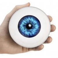 """Шар для принятия решений """"Всевидящий глаз""""  ( Шар предсказаний ) 10см, фото 1"""
