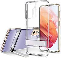 Чехол ESR для Samsung Galaxy S21 Air Shield Boost (Metal Kickstand), Clear (3C01202190201)