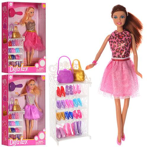 Набір Defa Lucy з лялькою і сукнями (8027)