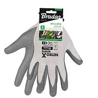 Перчатки защитные NITROX WHITE нитрил, размер  10, RWNWH10, фото 1