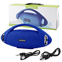 Bluetooth-колонка HOPESTAR-H37, StrongPower, c функцією speakerphone, радіо, blue, фото 1