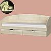 Односпальне ліжко Комфорт (без матраца) (матрац 800х1900) (1940х850х800), фото 7
