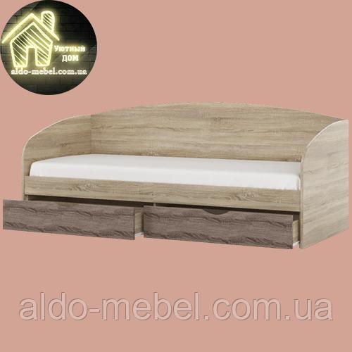 Односпальне ліжко Комфорт (без матраца) (матрац 800х1900) (1940х850х800)