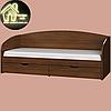 Односпальная кровать Комфорт (без матраса) (матрас 800х1900) (1940х850х800), фото 6