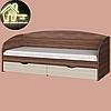 Односпальная кровать Комфорт (без матраса) (матрас 800х1900) (1940х850х800), фото 4