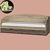 Односпальная кровать Комфорт (без матраса) (матрас 800х1900) (1940х850х800), фото 9