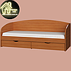 Односпальная кровать Комфорт (без матраса) (матрас 800х1900) (1940х850х800), фото 8