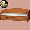 Односпальне ліжко Комфорт (без матраца) (матрац 800х1900) (1940х850х800), фото 8