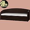 Односпальная кровать Комфорт (без матраса) (матрас 800х1900) (1940х850х800), фото 5