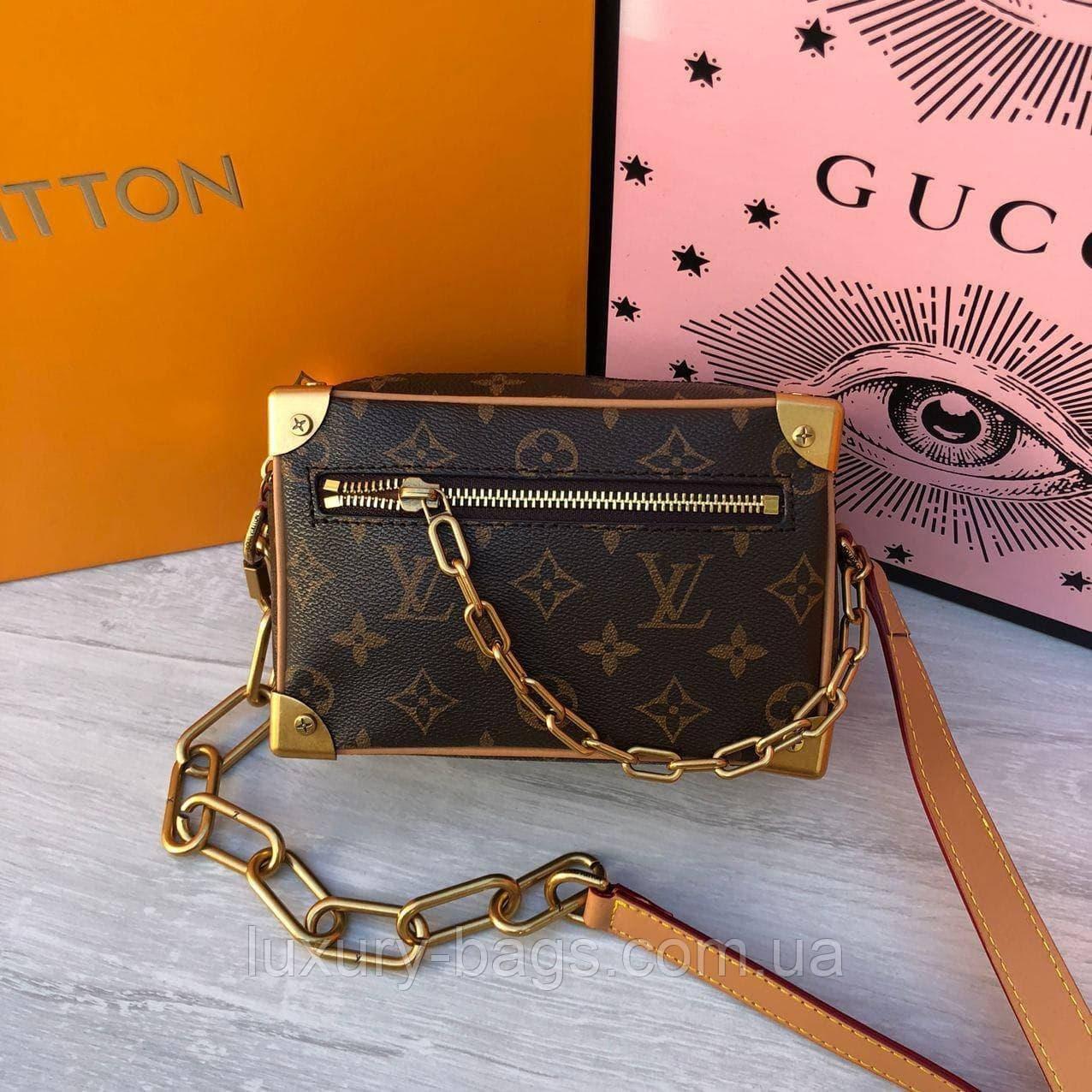 Крута сумка Луї Віттон Louis Vuitton Mini Soft Trunk