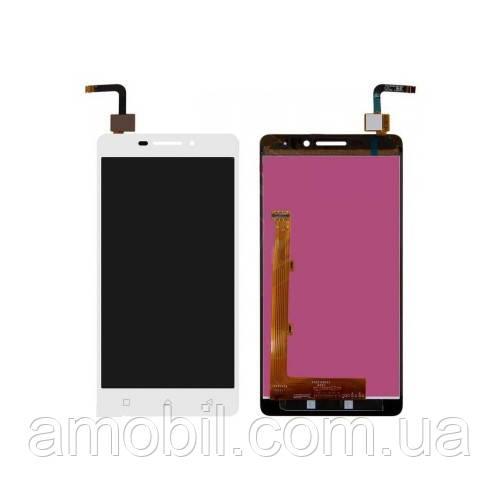 Дисплей + сенсор Lenovo P1m Vibe P1mA40 white