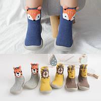 Тапочки для дома и садика, носки-чешки