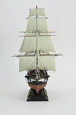 Сборная платиковая модель в масштабе 1/200. Французский фрегат «Ашерон». 1/200 ZVEZDA 9034, фото 3