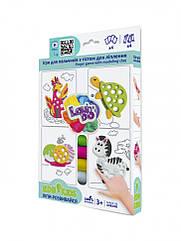 Набір тіста для ліплення TM Lovin'Do Edu kids Ігри для пальчиків 6 41047