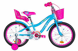 "Велосипед дитячий 18"" Formula ALICIA 2021 блакитний"