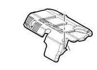 Крышка мотора декоративная Fiat Doblo