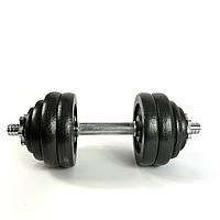 Комплект металлических гантелей NEO-SPORT - 30 кг