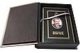 """Книга в шкіряній палітурці і подарунковому футлярі """"Вибране"""" Іван Франко, фото 2"""