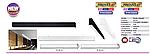 INNOVA 5 - 40W черная LED Люстра светодиодная, фото 4
