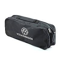 """Сумка тех.помощи VW черная  (52,6х18,6х13,2)  2 отдела """"Beltex"""" (липучки для фиксации)"""