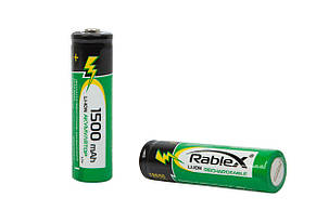 Аккумулятор Rablex 18650-1500mAh, 3.7v, Li-Ion, фото 2