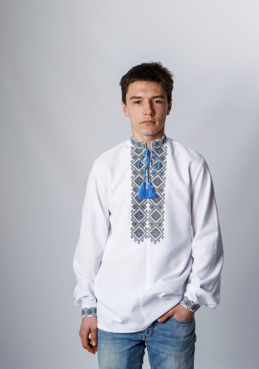 Рубашка подростковая вышитая 152 р