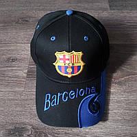 Футбольная Бейсболка / кепка Барселона / Barcelona черная, фото 1