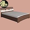 Двоспальне ліжко Марго Еверест (2УПАК) (без матраца) (матрац 1600х2000) (1650х2200х600), фото 2