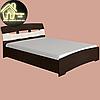 Двуспальная кровать Марго Эверест (2УПАК) (без матраса) (матрас 1600х2000) (1650х2200х600), фото 6