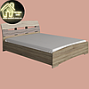 Двоспальне ліжко Марго Еверест (2УПАК) (без матраца) (матрац 1600х2000) (1650х2200х600), фото 5