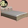 Двуспальная кровать Марго Эверест (2УПАК) (без матраса) (матрас 1600х2000) (1650х2200х600), фото 5