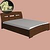 Двоспальне ліжко Марго Еверест (2УПАК) (без матраца) (матрац 1600х2000) (1650х2200х600), фото 3