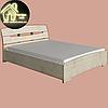 Двуспальная кровать Марго Эверест (2УПАК) (без матраса) (матрас 1600х2000) (1650х2200х600), фото 4